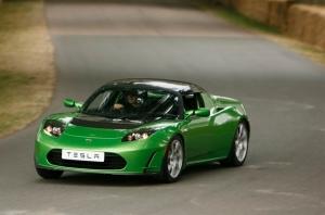 Tesla Roadster -sähköauto